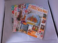 Lot of Cross-Stitch Magazines