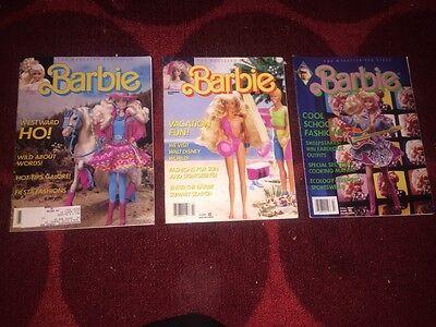 Barbie Magazine Spring Summer fall1990 Swimsuit Beach RARE lot collector NKOTB