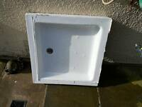 Stone resin shower tray 760x760