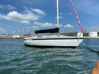 Sailing Yacht westerly GK24 with trailer