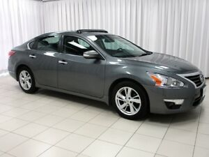 2015 Nissan Altima SL LEATHER , SUNROOF , NAVIGATION AND SO MUCH