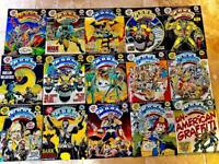 39 Vintage 2000AD Monthly comics from Oct '85 to Jan '90