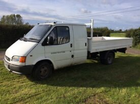 FORD TRANSIT DROPSIDE SMILEY TRUCK. Credit/Debit Cards Accepted
