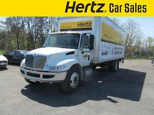 2013 International 4300 M7 Durastar Diesel,24 Ft. Box, Automatic
