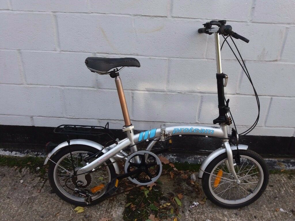 proteam folding bike ** i can deliver **