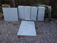 Bradstone silver granite flame finish unused paving approx 6sqm