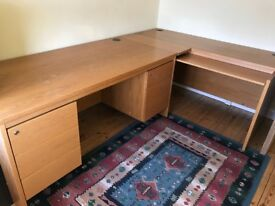 Office Pedestal Desk and Computer Table - Free