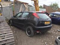 breaking ford focus car parts spares 1998-2004 model FOCUS CAR PARTS SPARES