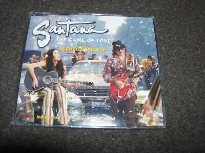 CD SINGLE - SANTANA ft MICHELLE BRANCH - THE GAME OF LOVE     comprar usado  Enviando para Brazil