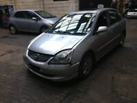 HONDA CIVIC 5DR PETROL BREAKING 2004 FOR SPARES 1X WHEEL NUT