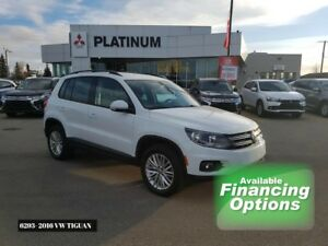 16 Tiguan- Bluetooth, Prem Interior, LOW KM, Backup Camera