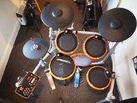2 Box Drumit 5 Mk 2 electronic drum kit (plus set of acoustic conversion triggers and mesh heads)