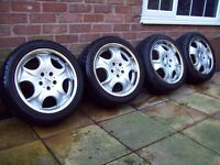 "ANTERA 17"" ALLOYS - 5X112 - MERCEDES - VW GOLF MK5 MK6 - VW T4 - AUDI A4 - AND MORE - I WILL POST -"