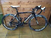 Boardman team carbon 52cm with Planet X 50mm carbon wheels