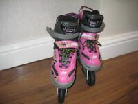 Stinger Girls Adjustable Inline Skates