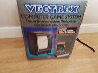 vintage vectrex games console