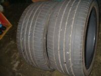 three tyres to suit large 4x4