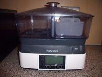 Morphy Richards 48775 Intellisteam Compact Food Steamer 6L - £35