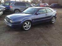 VW Corrado 2.9 VR6 9 mths MOT, VERY CLEAN, NO RUST, VERY RARE colour,