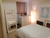 Double room with ensuite bathroom in Richmond flat