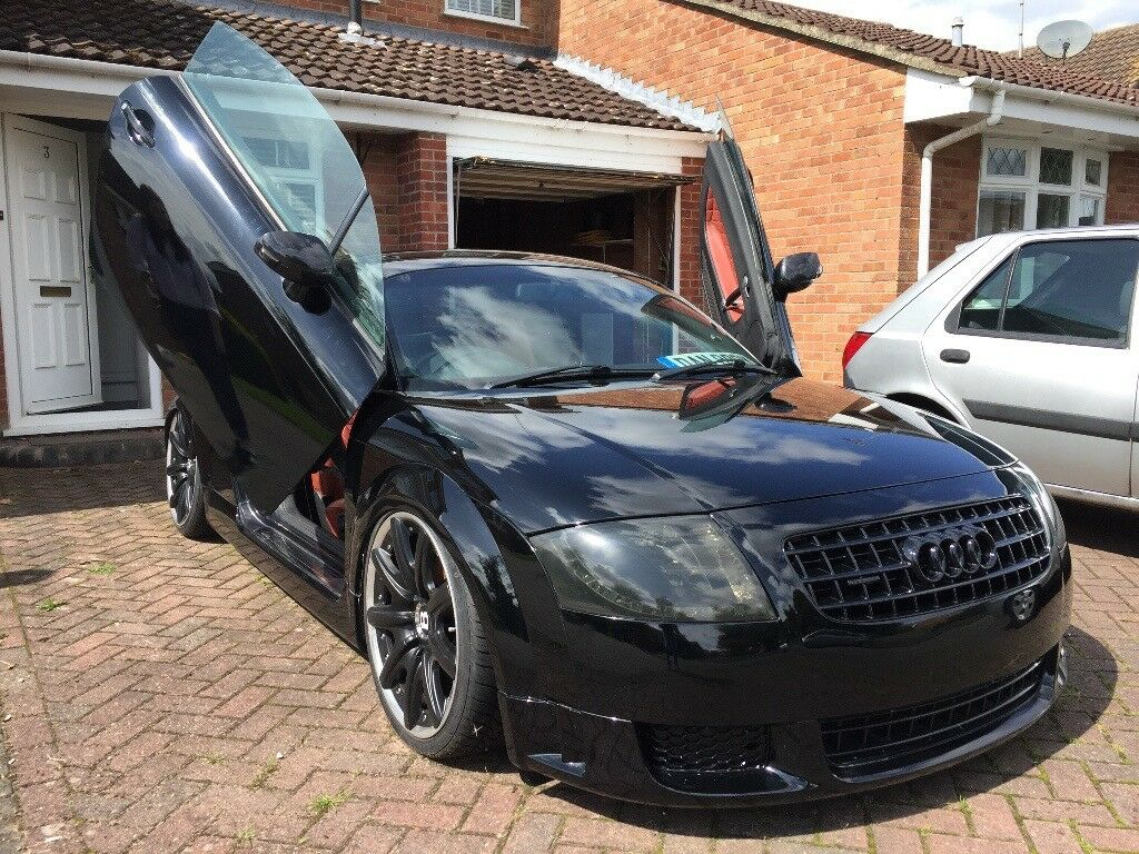 2000 audi tt mk1 black modified show car air lift 3p ride. Black Bedroom Furniture Sets. Home Design Ideas