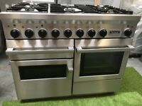 Stunning Falcon 1092 Range cooker Double Oven Roller Grill Falcon & Extractor