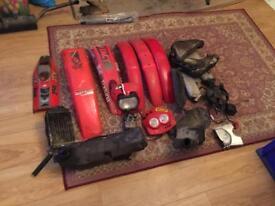 Gas gas trails parts
