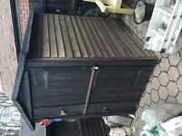 Garden Shed - 5 1/2 ft x 4 ft