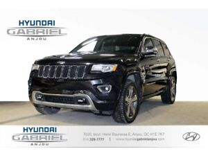 2015 Jeep Grand Cherokee Overland 4WD SUSPENSION À AIR, M