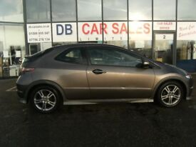 2011 60 HONDA CIVIC 1.3 I-VTEC TYPE S 3D 98 BHP ****GUARANTEED FINANCE **** PART EX WELCOME