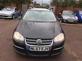 VOLKSWAGEN GOLF 2.0 TDI FULL HISTORY MINT RUNNER NATIONWIDE DELIVERY 2895