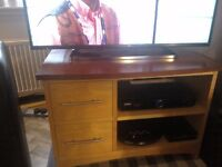 McDonagh cherry and maple veneer TV/media unit or storage unit