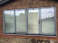 Bi fold door fitting shucho Rayners sepa & all aluminium windows