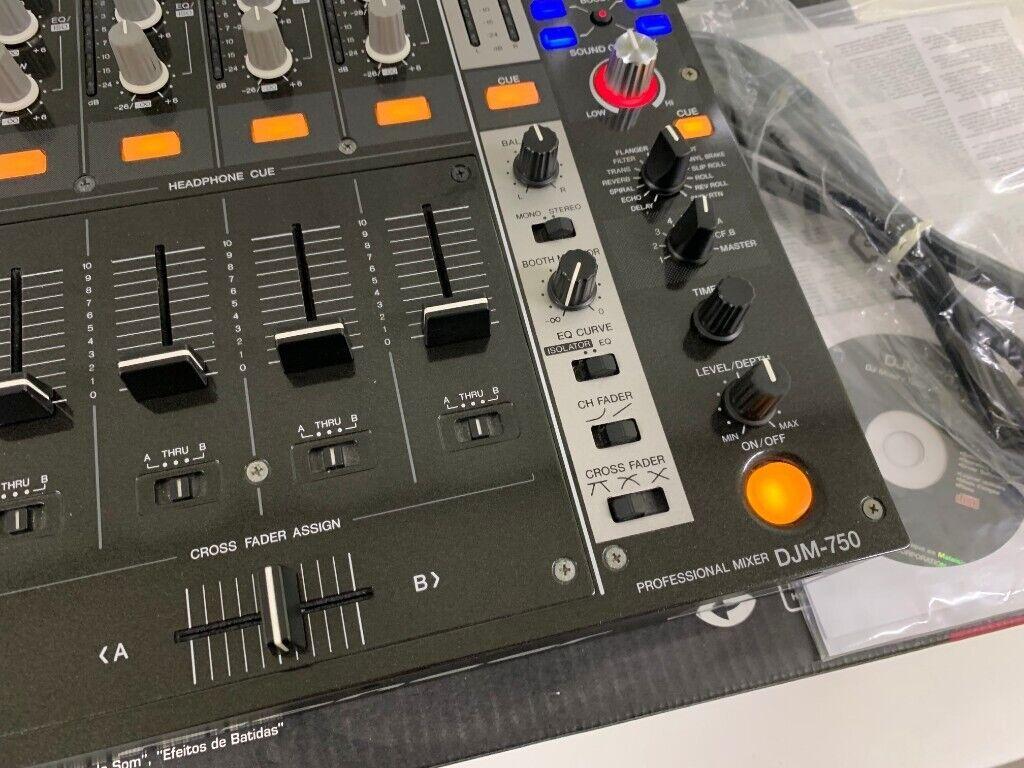 Pioneer DJM 750K DJ Mixer - Mint Boxed Inc Cables and Manuals - CDJ DDJ XDJ  DJM 750   in Eltham, London   Gumtree
