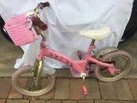 Children's bikes, scooters, music centre, toddler Mickey Mouse shopping trolley, toddler pushalong