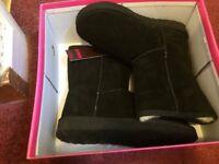 Brand New, Black Ukala Boots ( Ugg style) UK size 3