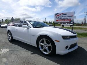 2014 Chevrolet Camaro 2LT! RS! CONVERTIBLE! CERTIFIED!
