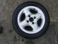 Ford Fiesta wheel and tyre
