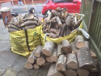 CHEAP huge amount of firewood for winter well seasoned good burning logs will keep you going a while