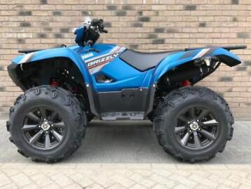 Yamaha Grizzly 2019 4x4 SE incl. kenteken