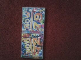 10 x NOW 2 Disc CD's & 1 x NOW DISNEY 4 Disc CD boxset for sale.