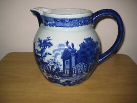 Delightful Large Vintage Victoria Ware Stoneware Jug