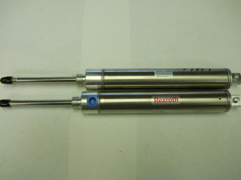 LOT OF TWO REXROTH PNEUMATIC CYLINDERS M-10RP-30