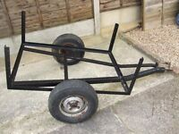 Small 4ft x4ft trailer unfinished project for sale.
