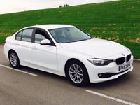 2013 63reg BMW 3 Series 2.0 320d EfficientDynamics Business Edition 4dr **WHITE**MEGA SPEC