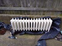 Antique old style radiator
