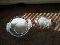 Pyrex Casseroles with lids