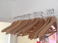 x30 Wooden Hangers