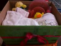 Gift boxes and baskets have more