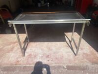 Stainless steel work bench excellent condition